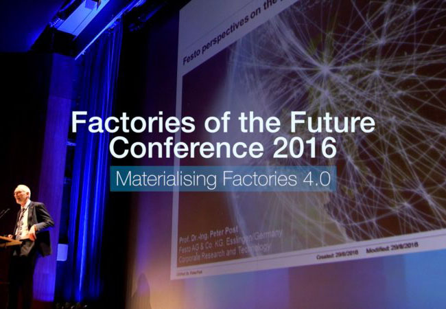 Factories of the Future 2016: Materialising Factories 4.0